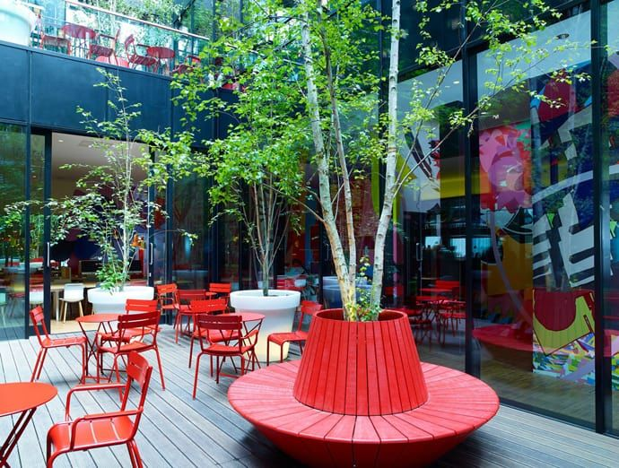 Contemporary Hotel CitizenM London Bankside by Concrete - design hotel citizenm london