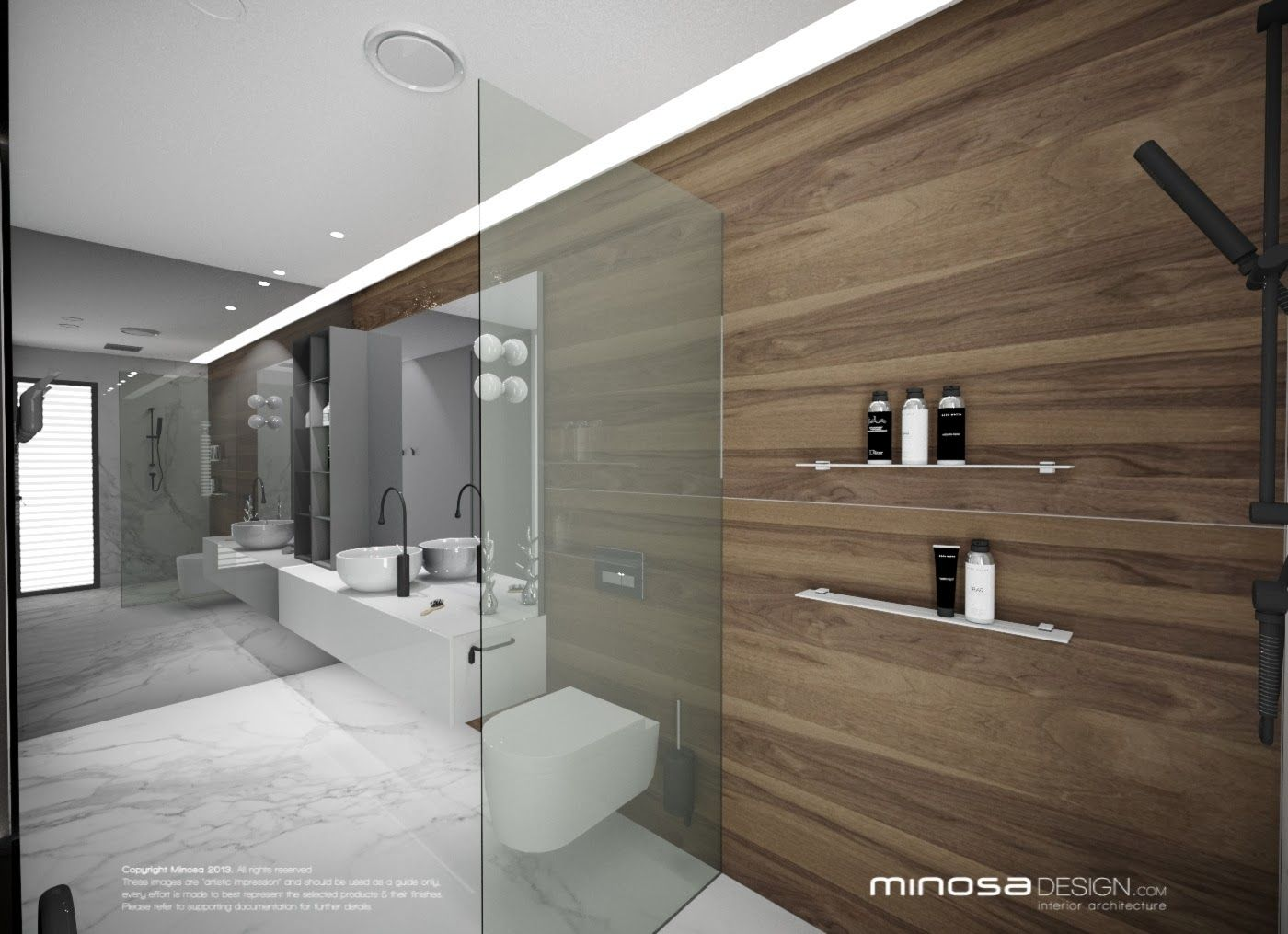 Kitchen And Bathroom Designers Cool Minosa Design Luxury Bathroom Design Minosa  Bathrooms Decorating Inspiration