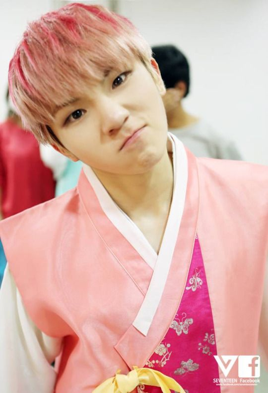 Woozi. This is the best face....