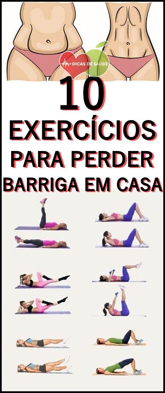 como perder barriga exercicios