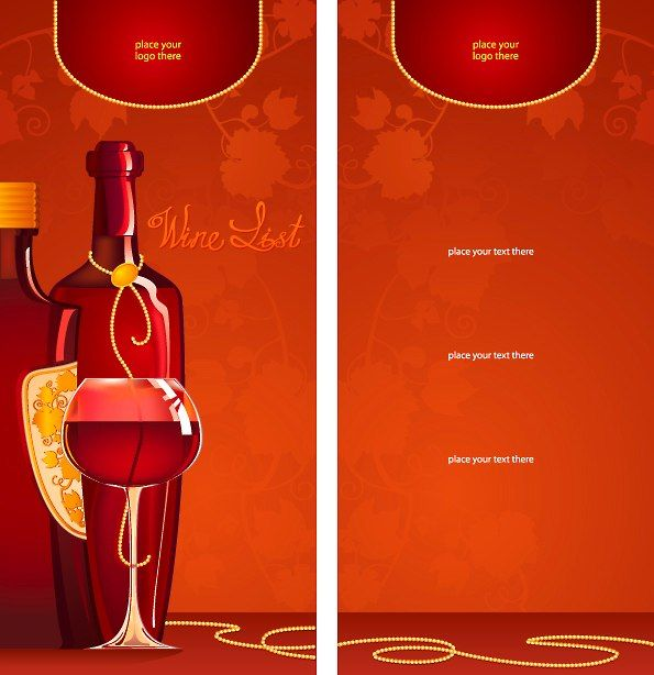 Sample Drink Menu Template Food Menu Bundle Menu Id French