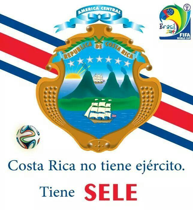 La Sele Escudo De Costa Rica Pura Vida Costa Rica Vida