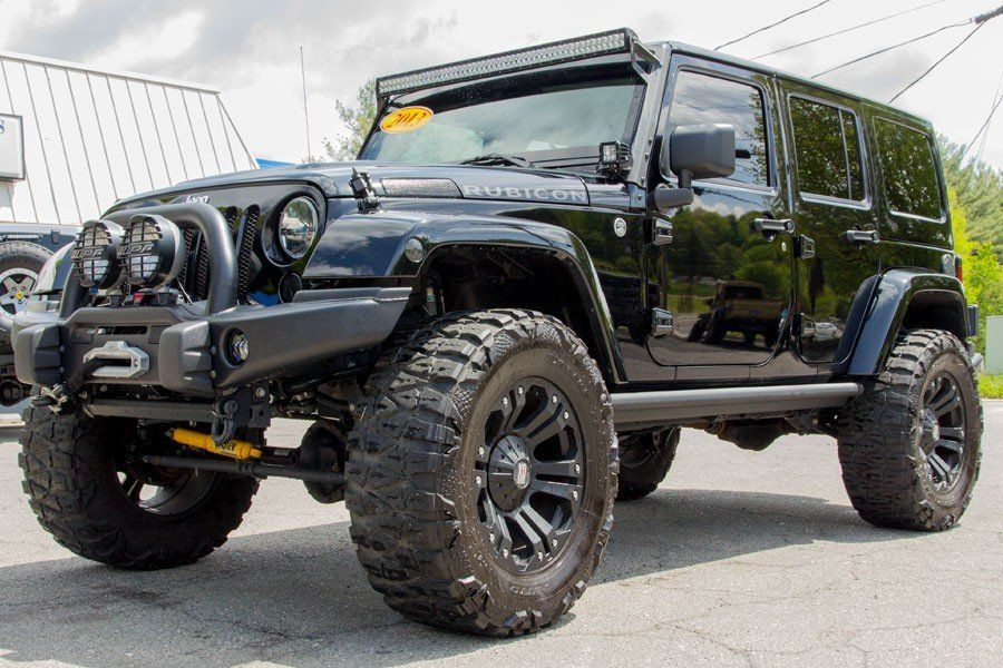 This Wrangler Unlimited with XD Wheels has the Beef! in