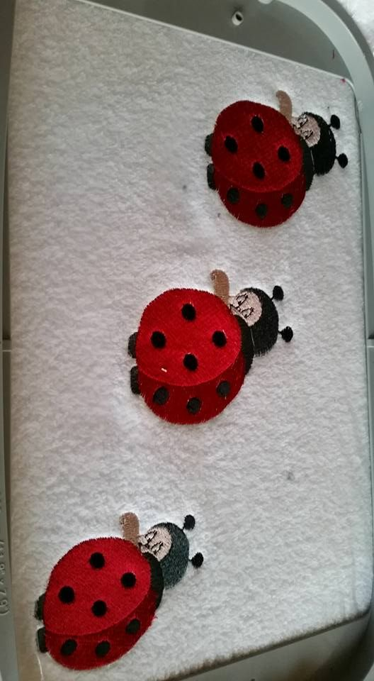 4x4 Ladybug Embroidery Design 193 Free Embroidery Designs