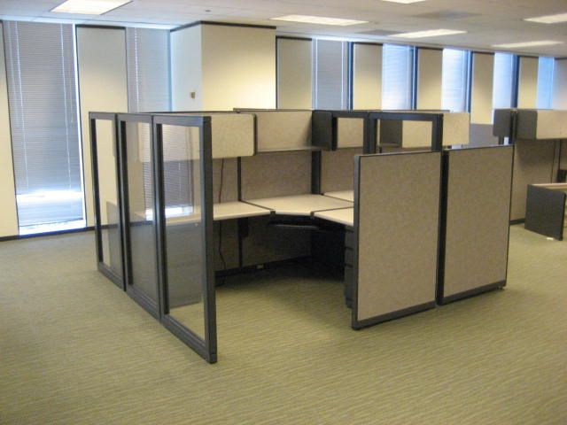 office with cubicles. office cubicles for a better workplace environment with f
