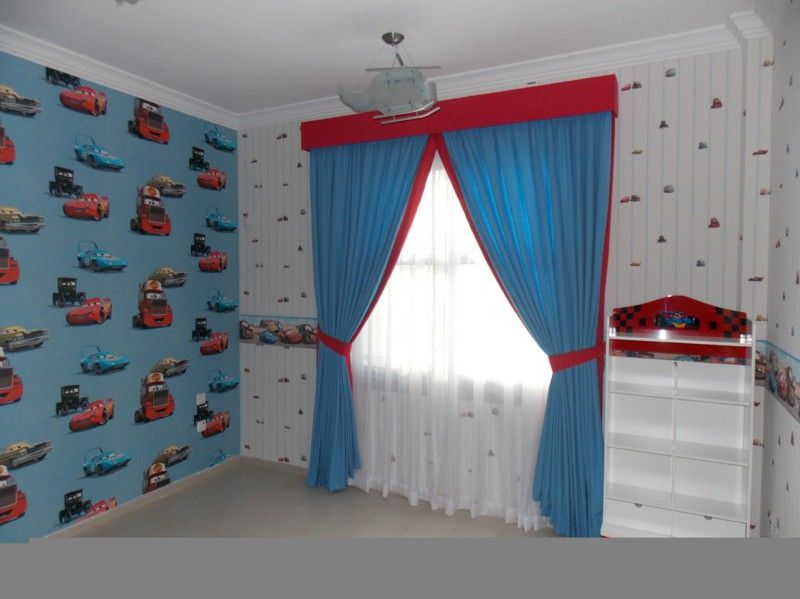 Curtains Ideas curtains matching wallpaper : 17 Best images about Children Room on Pinterest | Baby room ...