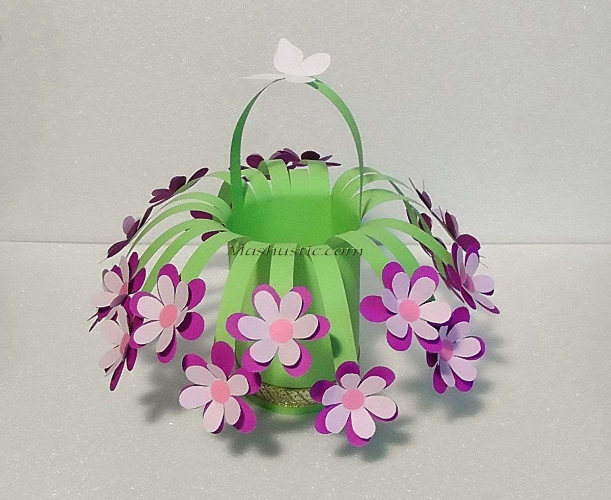Easy And Beautiful Paper Flower Bouquet Mashustic Com