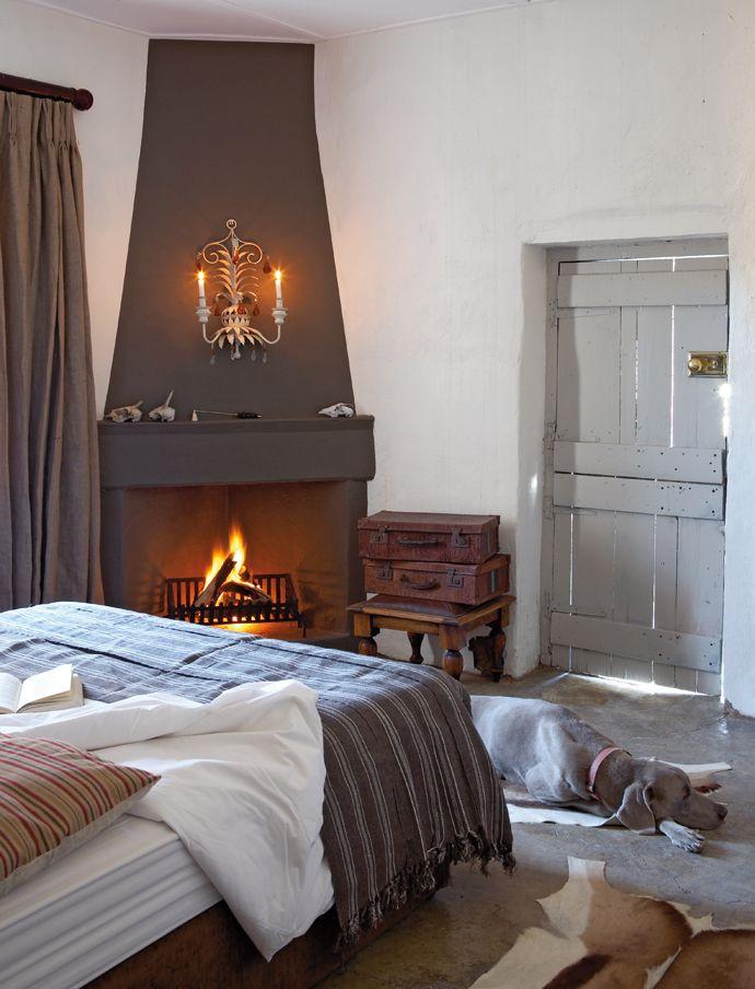 Rustic Karoo Farmstead | Fire | Pinterest - Haard, Open haarden en ...