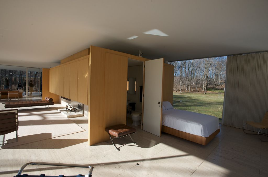 farnsworth house interior - Google zoeken