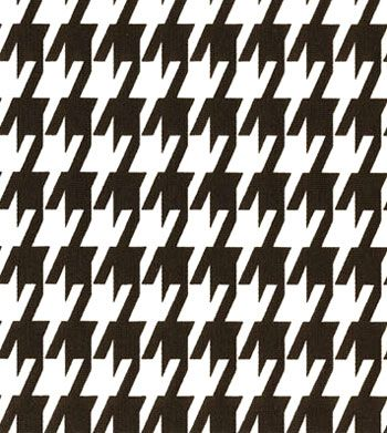 Large Houndstooth Black White Fabric Fabric Ideas Pinterest
