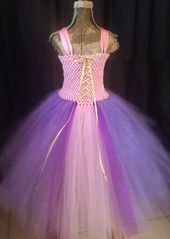 db057492e5d2c3 Rapunzel tutu costume, rapunzal dress, princess costume, princess ...