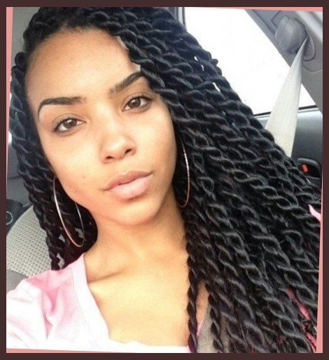 large senegalese twists  for the curls  pinterest  senegalese