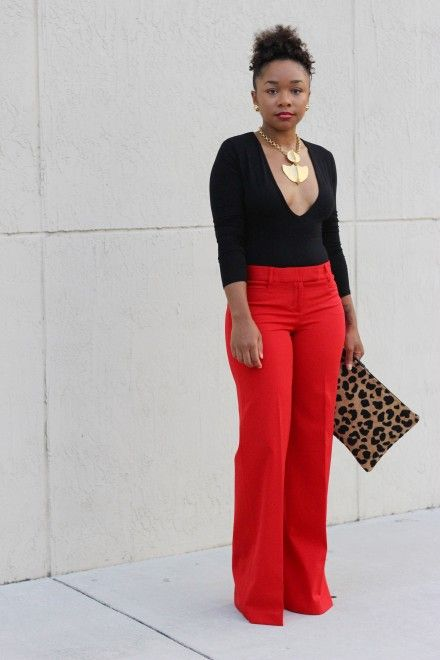 f58039e40c Business Attire Ideas For Black Women But With A Higher Blouse Of course!
