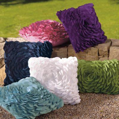 Peony Outdoor Throw Pillows - Grandin Road