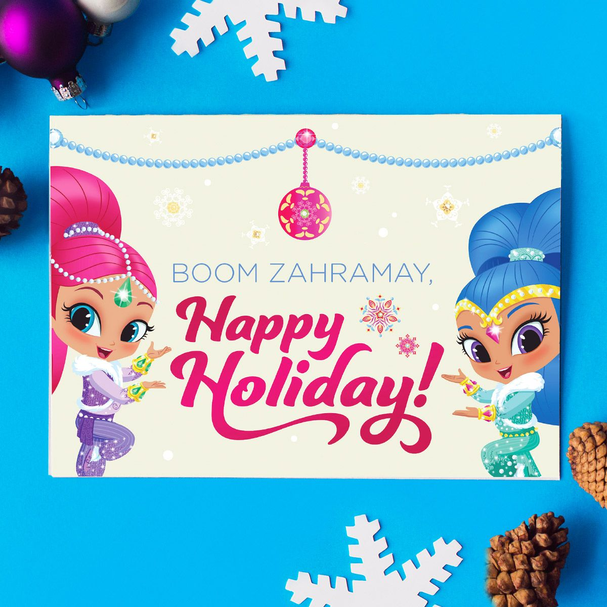 Five nick jr holiday greeting cards nick jr five nick jr holiday greeting cards kristyandbryce Images