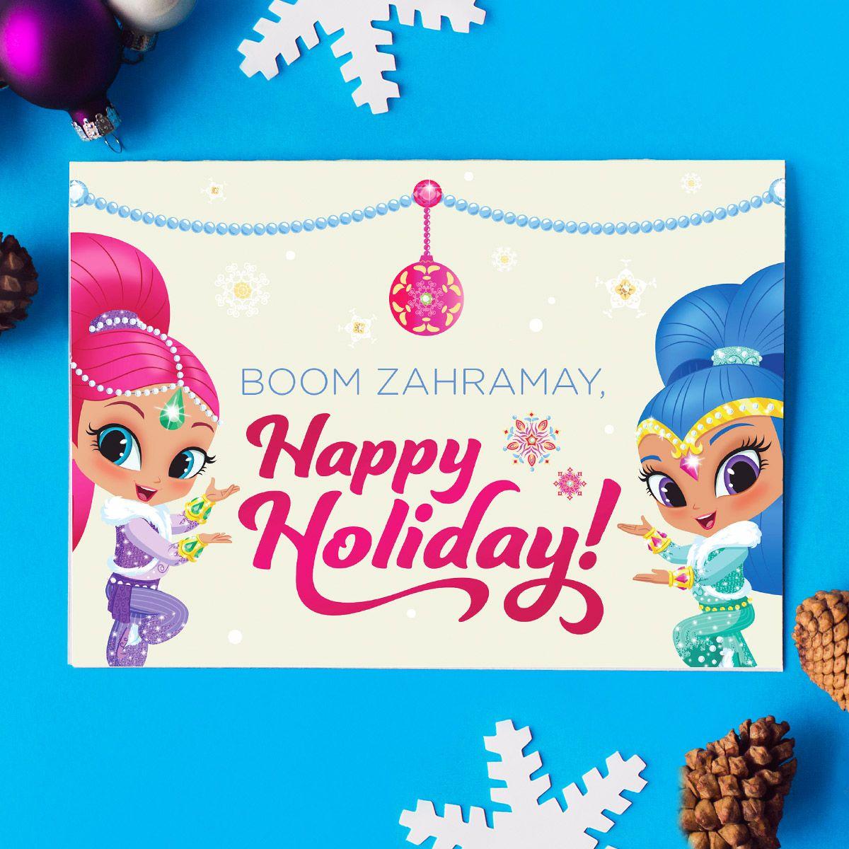 Five Nick Jr Holiday Greeting Cards Nick Jr