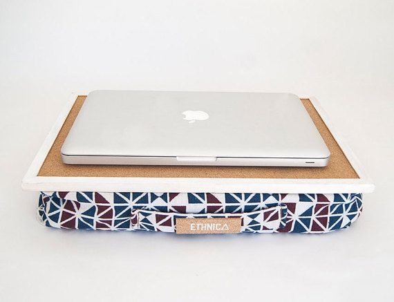 On Sale Eco Friendly Laptop Tray With Cushion For Bed Lap Etsy Laptop Tray Lap Desk Lap Tray