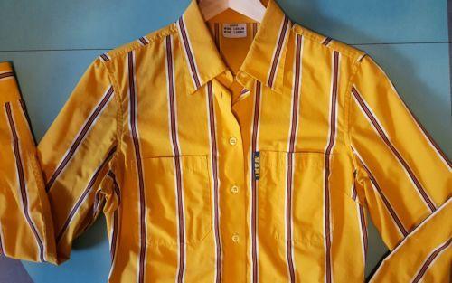 IKEA Coworker sz S Employee Uniform Oxford Long Sleeve Button Dress Shirt Small https://t.co/00VzNCb3N2 https://t.co/egHrHFfjuB