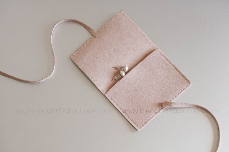 50 pcs jewelry pouch with LOGO Jewelry packaging custom pouch with logo Jewelry packaging with logo Jewelry envelope pouch