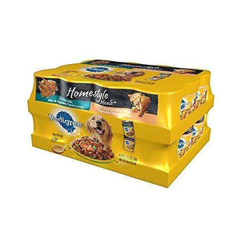 3 x pedigree homestyle choice cuts wet dog food 24 ct variety pack 132 oz check out this great product