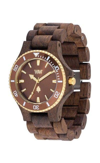 beb3ebd8f53 WeWood Date Rough Metal Indian Rosewood Watch