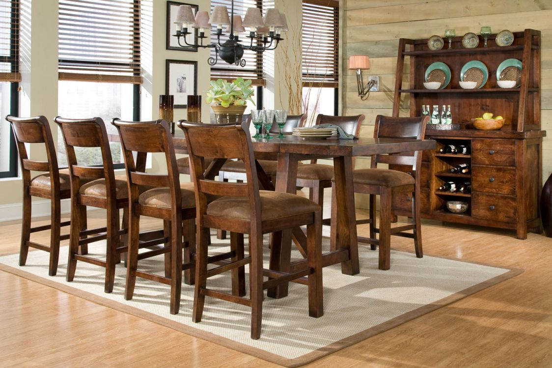 Bar Dining Room Table Pub Dining Room Table Sets  Cool Rustic Furniture Check More At