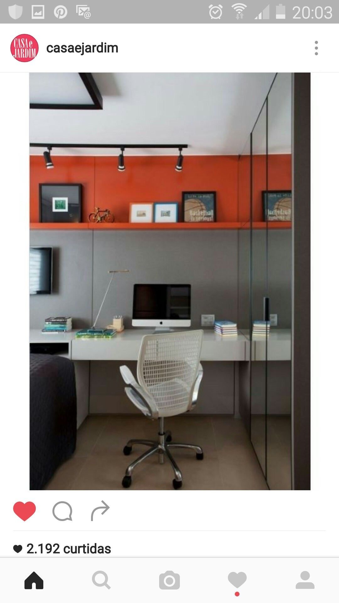 Simples e lindo cool offices pinterest
