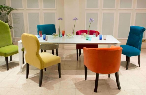 Funky Dining Room Table And Chairs Parker & Farr's Dining Chairs All Great Pals From Left Guy