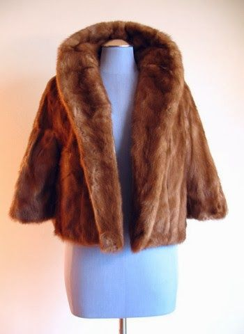 Couture Allure Vintage Fashion: New at Couture Allure - Vintage Furs and Designer Dresses