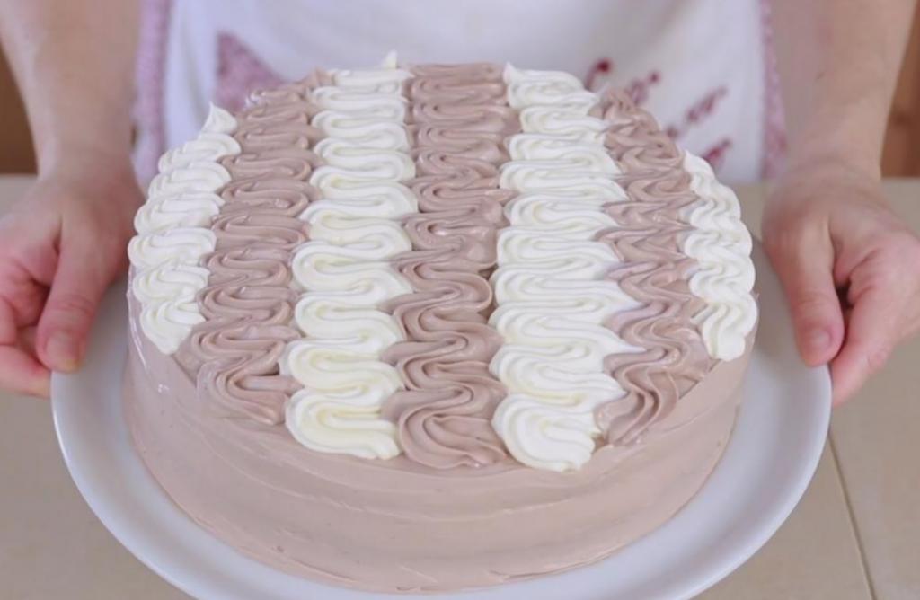 Torta Chantilly Bicolore Ricetta Ricette Di Pia Torte Cake