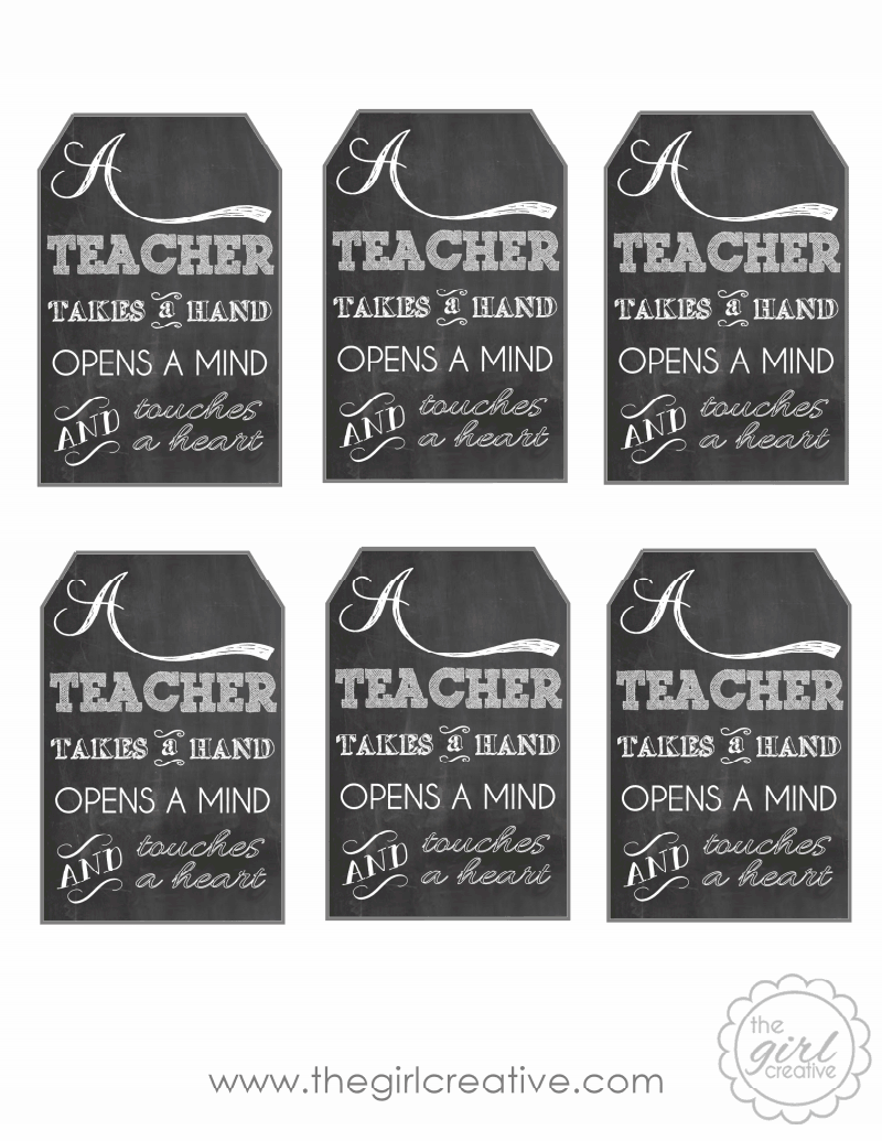 Day2day supermom say thank you to a teacher sisterhood saturday teacher appreciation gift with free printable tag a teacher takes a hand opens a mind and touches a heart add tag to a bottle of lotion for a perfect negle Gallery