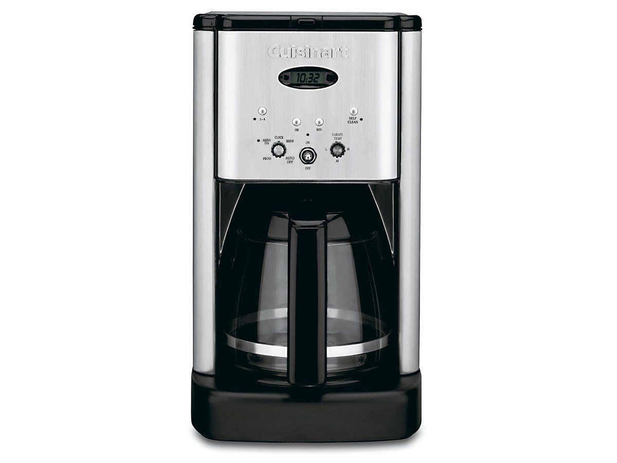 Cuisinart dcc brew central cup programmable coffeemaker black