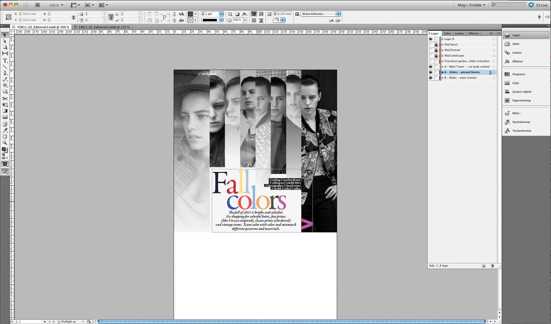 indesign tutorial create an interactive magazine for the ipad