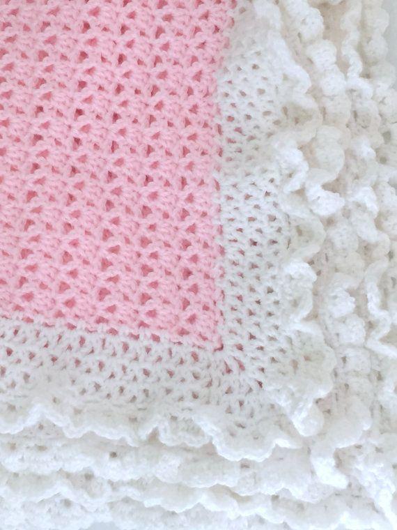 CROCHET PATTERN, Crochet Baby Blanket Pattern - Cherish Baby Blanket ...