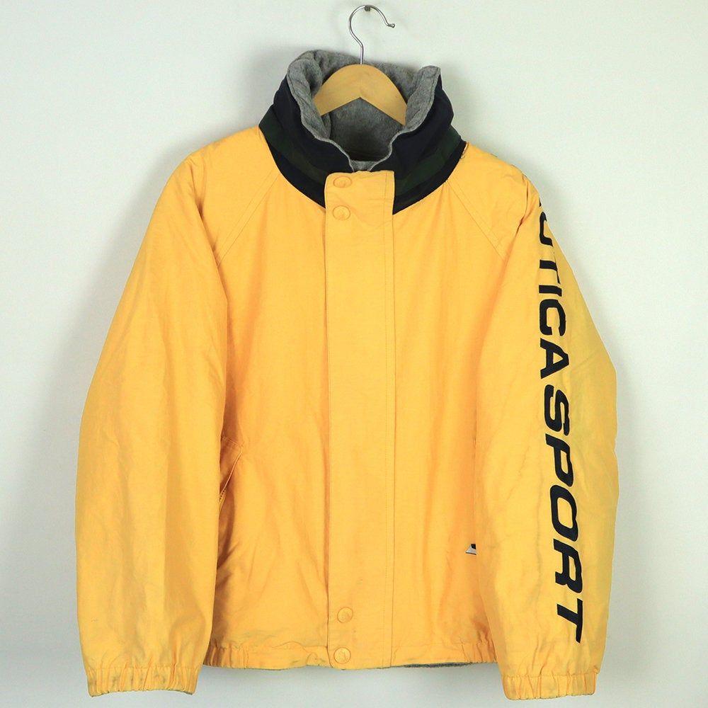 Vintage Nautica Sport Reversible Jacket Nautica Sailing Etsy In 2020 Reversible Jackets Long Sleeve Sweatshirts Sailing Gear