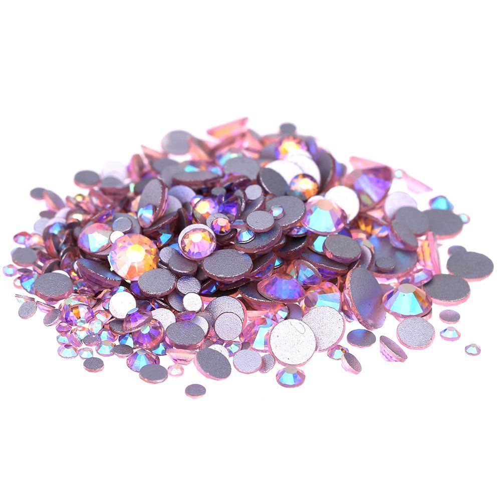 100 Pcs 2MM Rhinestones TOPAZ  Nail Art  Crafts