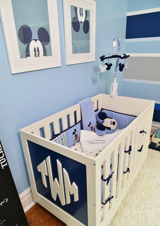 Decoracion habitacion bebe decoracion : decoracion habitacion bebe mickey mouse | Habitación para niños ...