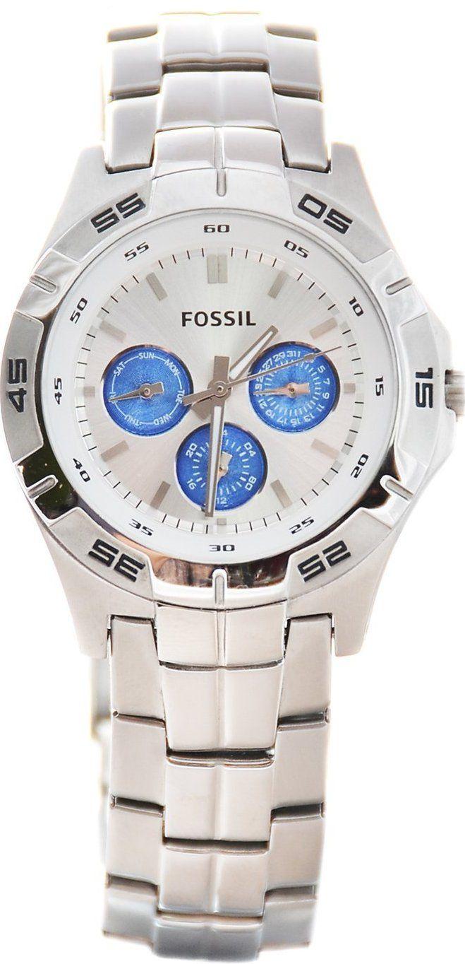#Fossil #Watch , BQ9417 men's Chronograph Stailes Steel Watch