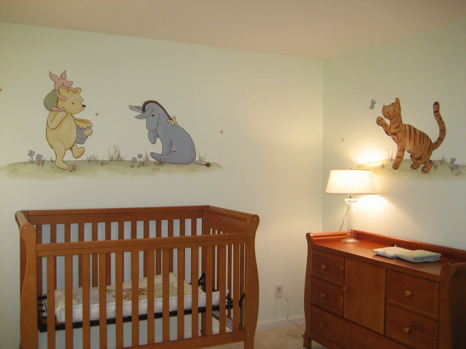 Winnie The Pooh Nursery I Would Have Those Close To Ground At Baby