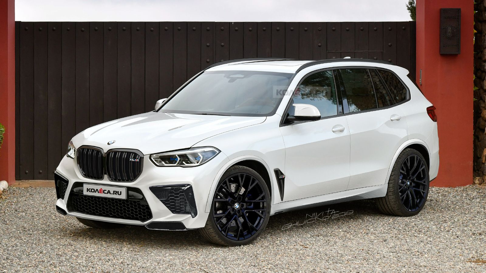 Bmw F95 X5 M Gets Teased Through New Renderings Bmw Suv Bmw X5 M Bmw X5 M Sport