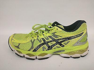 ASICS Gel Nimbus 16 Neon Yellow Running Sneakers Woman's