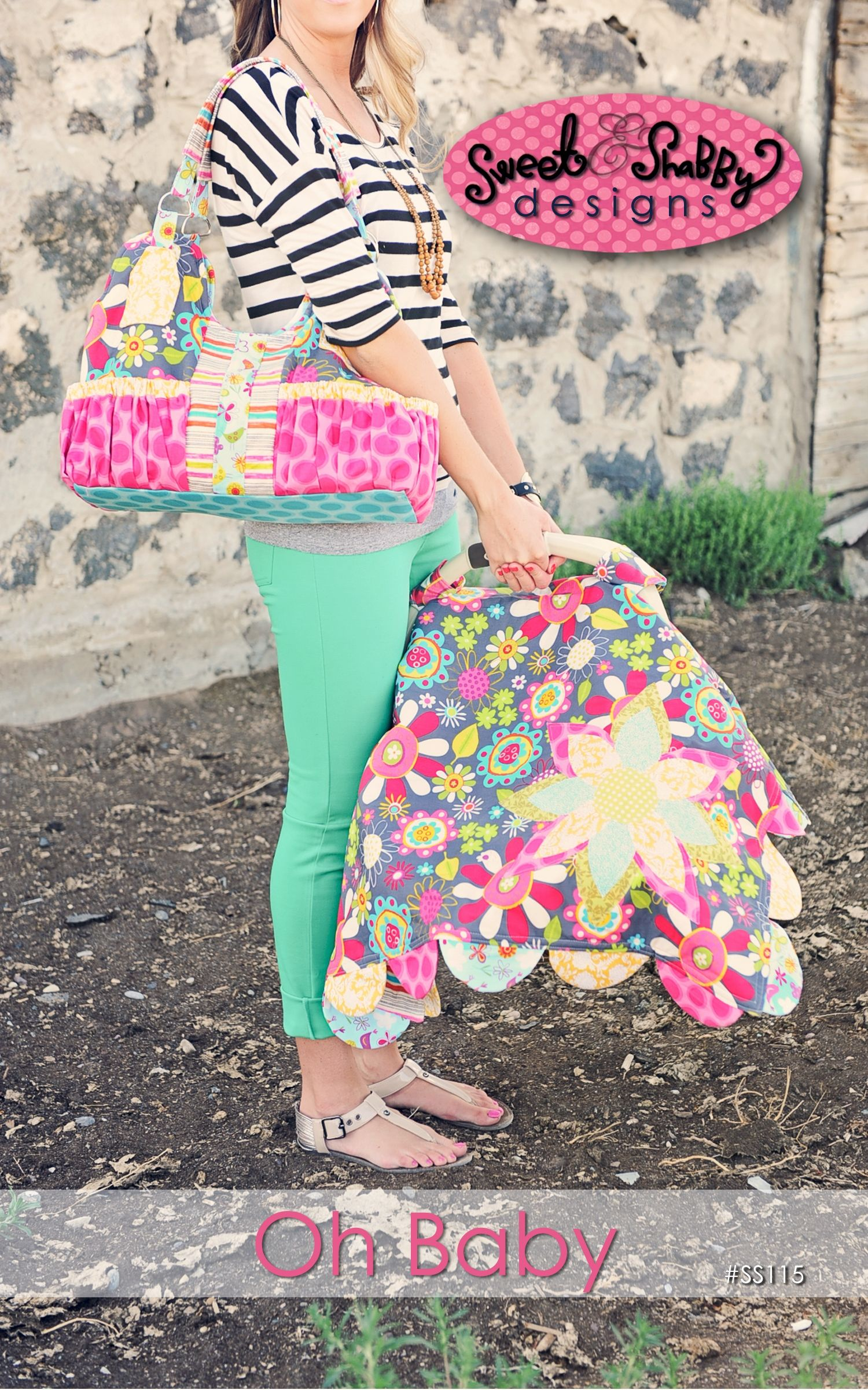 Car Seat Cover and Diaper Bag Pattern. Pretty sure I could do this ...