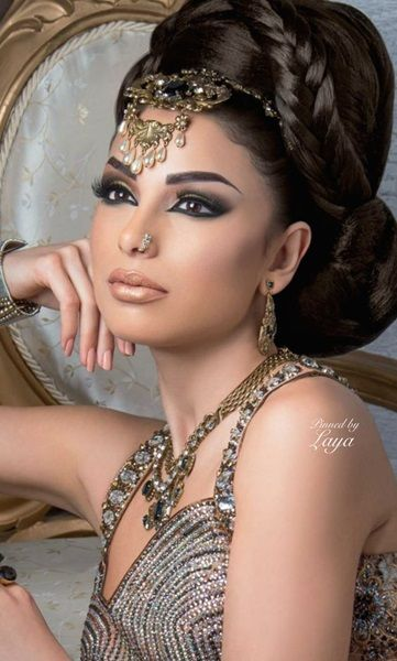 Hochzeit Haar Modelle Frisur Hochgesteckt Hochsteckfrisur Indische Schonheit