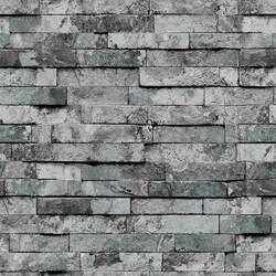 Millwood Pines Wallick Wood Stone Brick 33' L x 21