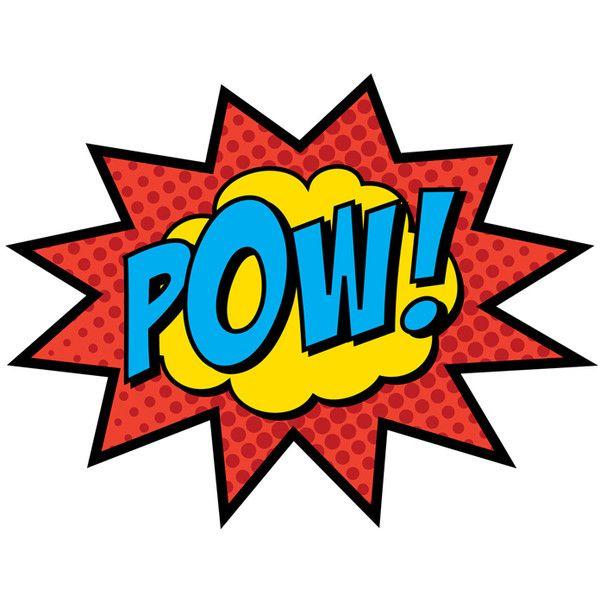 Pow Comic Book Weddings Get Superhero Upgrades The Best Wedding Blog Ever Found On Polyvore Superhero Signs Superhero Superhero Party