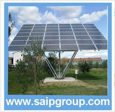 Flat Dual Axis Tracker Solar Tracking System Sp Ztf S 7 Solar Panels Solar Tracker Solar