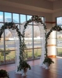 Arched Arbors Arbors And Trellises Metal Wedding Arch White Wedding Arch Wedding Arch