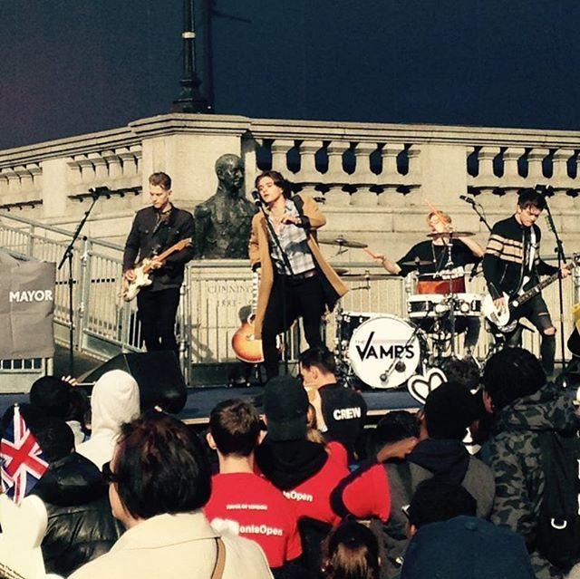 The boys performing in London today #GBHeroesLDN