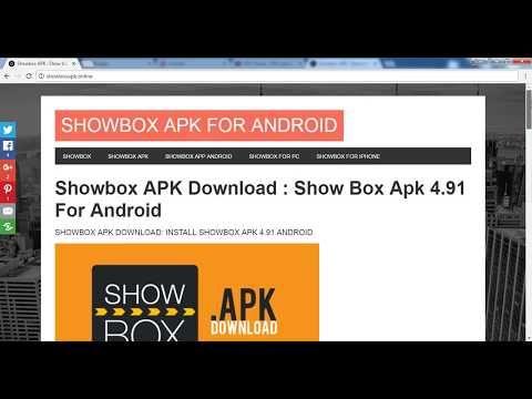 Windows 7 Loader Showbox APK Download for Android