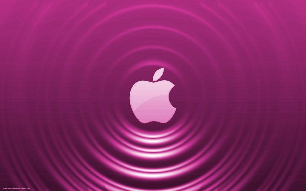 Pink Apple Ripple Effect By Seans Photography On Deviantart Apple Wallpaper Apple Logo Wallpaper Iphone Apple Logo Wallpaper